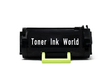 Load image into Gallery viewer, TIW MS810 Replacement Black Toner Cartridge for Lexmark MS810, MS710 MS710n, MS711 MS711dn, MS810de, MS811, MS811dn, Printers High Yield 25,000 Page Printing Cartridge 52D1H00 & 521H - 2 PACK
