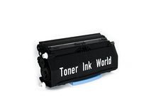 Load image into Gallery viewer, TIW Lexmark E260 Replacement Black Toner Cartridge for Lexmark E260, E260dn, E260d, E360, E360d, E360dn, E460 Printers High Yield 3,500 Pages, Cartridge E260A21A, E260A11A - 2 PACK