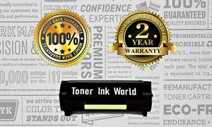TIW Lexmark MX310dn Replacement Black Toner Cartridge for Lexmark MX310, MX310dn, MX410, MX310de Printers High Yield 10,000 Pages Perfect for home & commercial use.