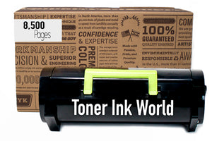 TIW Lexmark 51B1H00 Replacement Black Toner Cartridge for Lexmark MS417, MS517, MS617, MX417, MX517, MX617 Printers High Yield Remanufactured Toner Cartridge 8,500 Page