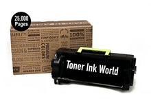 Load image into Gallery viewer, TIW Lexmark 521H, 52D1H00 Replacement Black Toner Cartridge for MS811dn, MS710, MS710n, MS711, MS711dn, MS810, MS810de, MS811, MS811dn, MS811n, MS812 Printers High Yield 25,000 Pages.