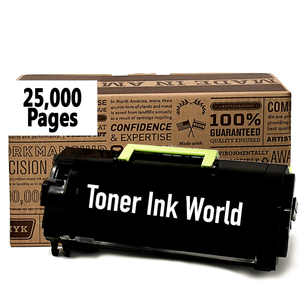 TIW Lexmark 53B1H00 Replacement Black Toner Cartridge for Lexmark MS817, MS818, MX817, MX818 Printers High Yield Remanufactured Toner Cartridge 25,000 Pages.