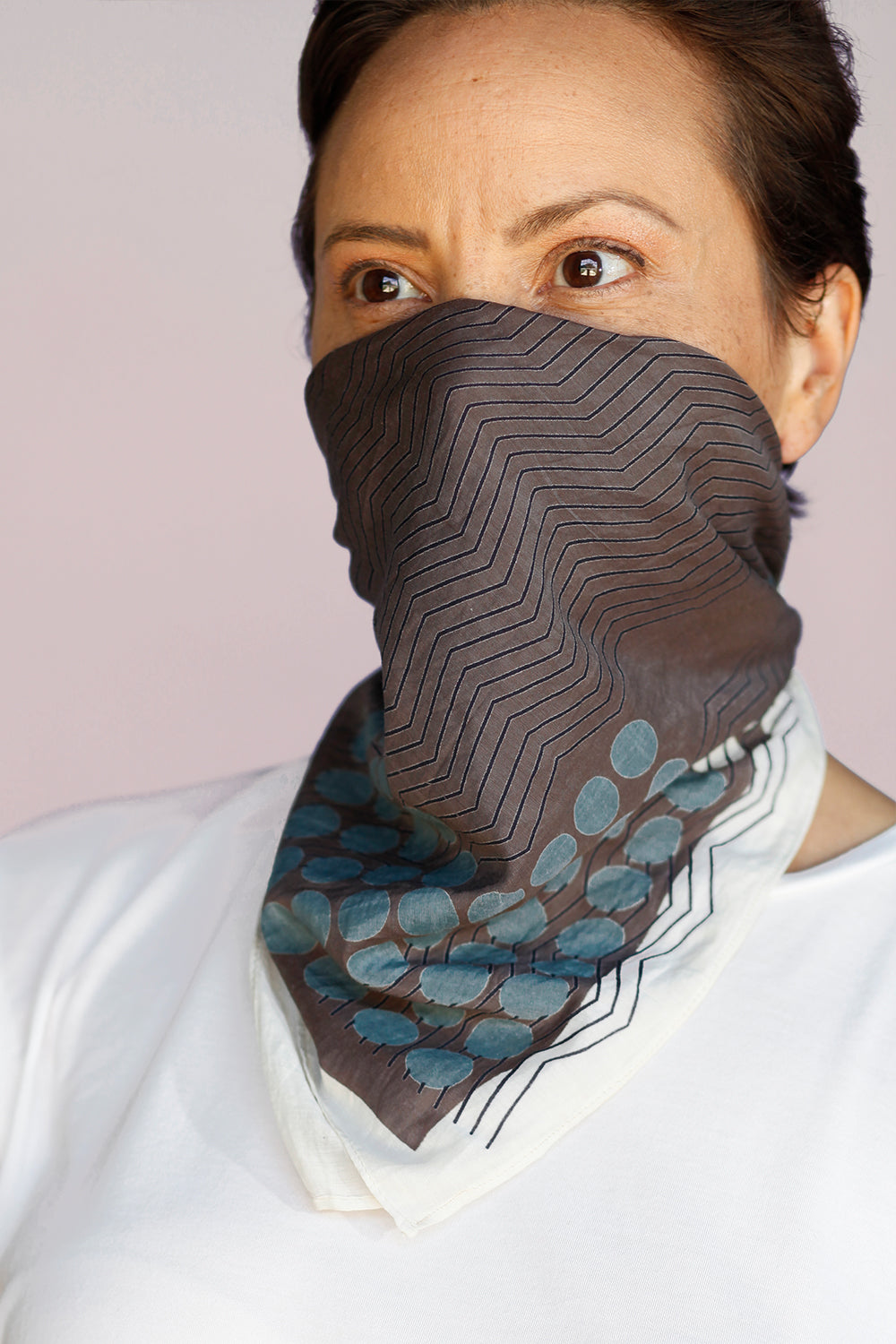 The Geo-Crescent Bandana