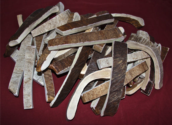 Moo-Nosh Moose Antler A Great Way To Try A Moose Antler ( For Dogs Under 50lbs) NOW available in 6 Flavors!