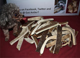 Pre-Order  Moo-Nosh Moose Antler A Great Way To Try A Moose Antler ( For Dogs Under 50lbs) NOW available in 5 Flavors!