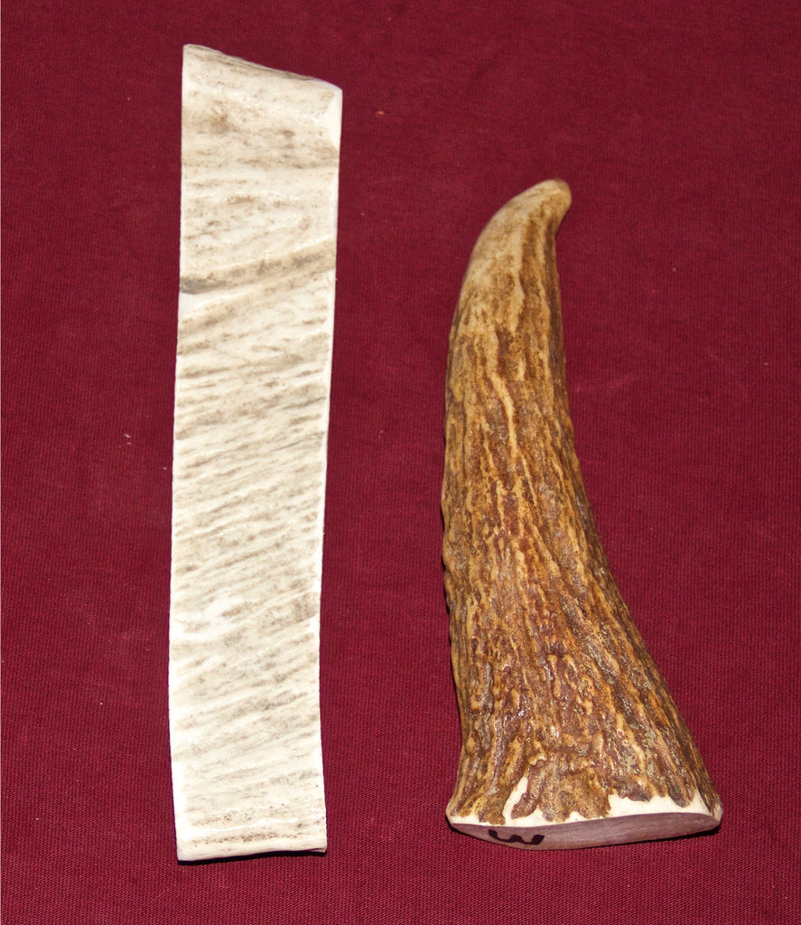 Medium Moose Antler For Dogs Up To 25 Pounds. NOW Available in 5 Flavors!!
