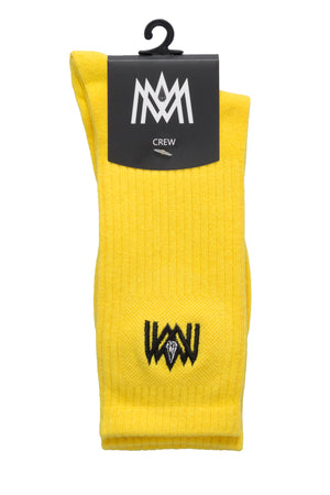 YELLOW CREW SOCKS