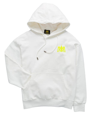 Load image into Gallery viewer, MMA 'ORIGINAL' HOODIE (WHITE)
