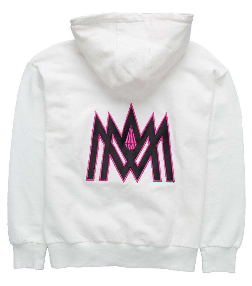 White and Pink Hoodie ATL