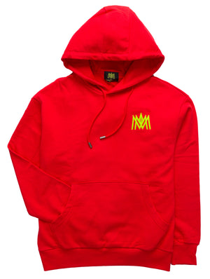 RED AND NEON HOODIE ATL