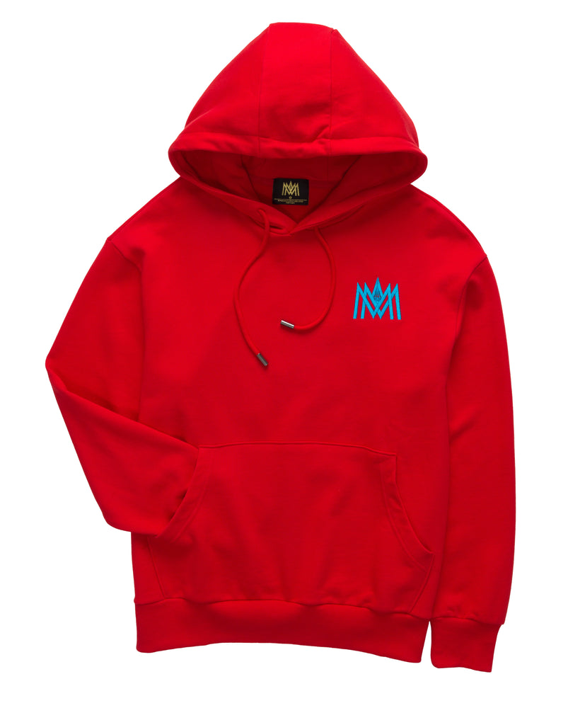 Red and Blue Hoodie ATL