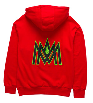 Load image into Gallery viewer, MMA 'ORIGINAL' HOODIE (RED)
