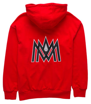 RED AND WHITE HOODIE ATL