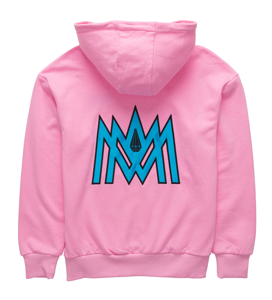 Pink and Light Blue Cotton Candy Hoodie