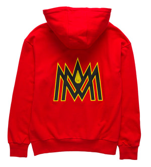 RED AND YELLOW HOODIE ATL