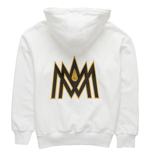 WHITE AND GOLD HOODIE ATL