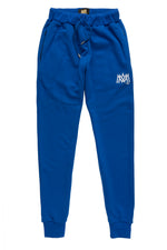 Blue/White Calligraphy Sweatpants