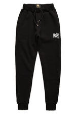Black Calligraphy Sweatpants
