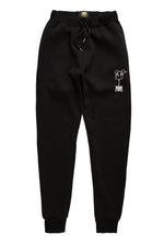 Black/White U.Kraft Sweatpants