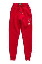 Red/White U.Kraft Sweatpants