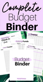 Complete Budget Binder PURPLE