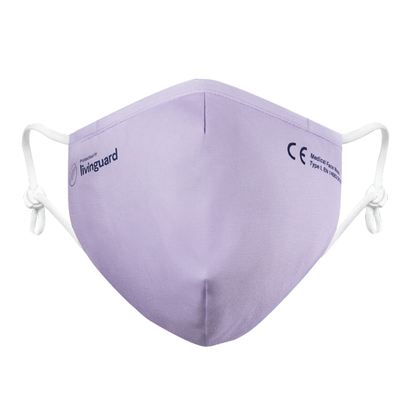 Livinguard mask Pro CE certified medical face mask type 1, allowed in public transport and shopping Frotal product image