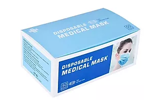 Disposable Medical Mask (50 PC per Box) 2-Day Delivery