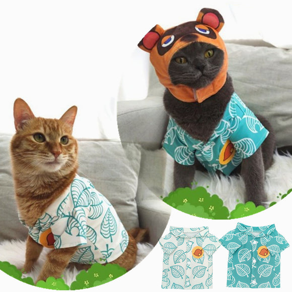 [Free Shipping] Animal Crossing Cosplay Pets Costumes for Dogs and Cats