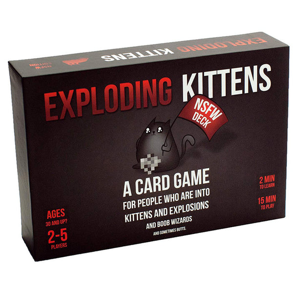 [Free Shipping] Adult Board Games NSFW Edition Explode Kitten Original Edition