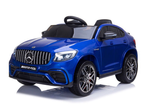 Mercedes-Benz GLC 63 S 4x4 Blauw, MP4-display, 2-zitter (XMX608)