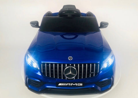 Image of Mercedes-Benz GLC 63 S 4x4 Blauw, MP4-display, 2-zitter (XMX608)