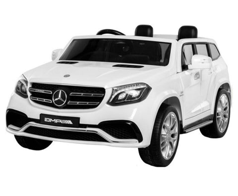 Mercedes GLS63 4x4 Wit, MP4-display, 2-zitter (HL228)