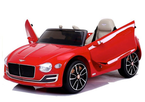 Image of Bentley EXP 12v, music module, leather seat, rubber EVA tires (JE1166)