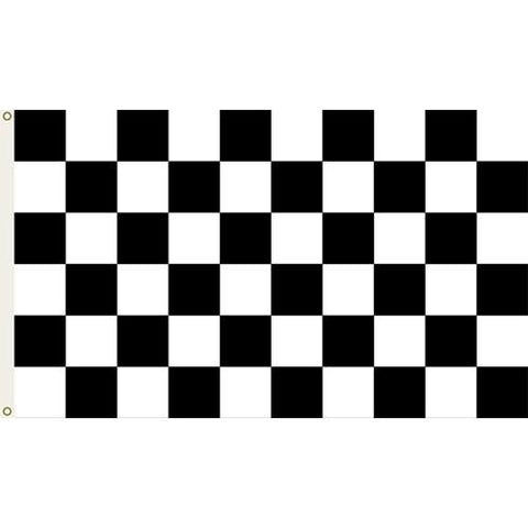 Checkered NASCAR 3x5 Flag