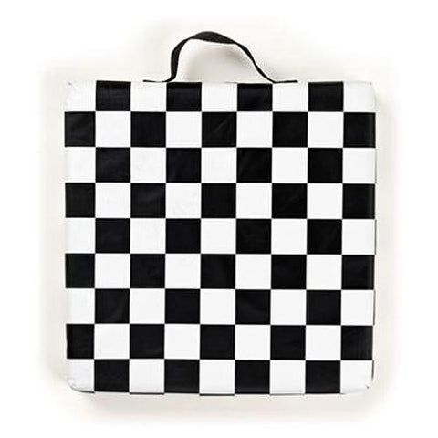 Checkered NASCAR Seat Cushion
