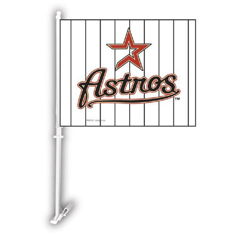 Houston Astros MLB Car Flag W-Wall Brackett