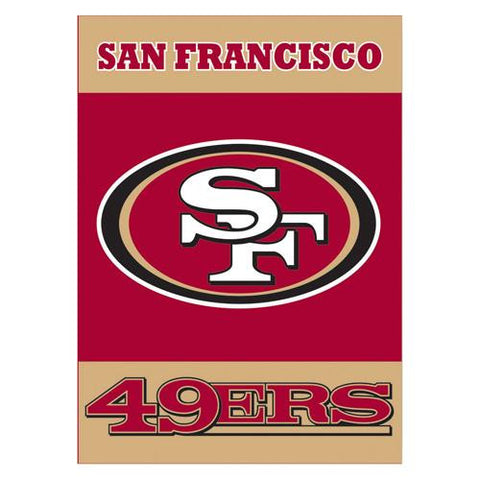 San Francisco 49Ers NFL 2-Sided Banner (28 x 40)