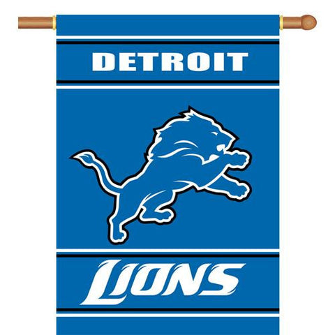 Detroit Lions NFL 2-Sided Banner (28 x 40)