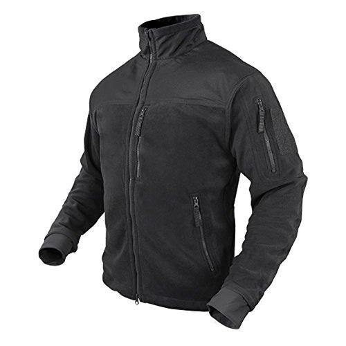 Alpha Fleece Jacket Color- Black (XXX-Large)