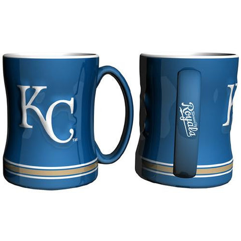 Kansas City Royals MLB Coffee Mug - 15oz Sculpted (Single Mug)