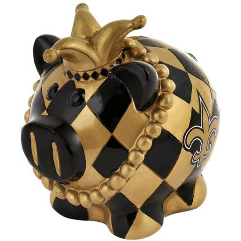 New Orleans Saints NFL Team Thematic Piggy Bank (Large)