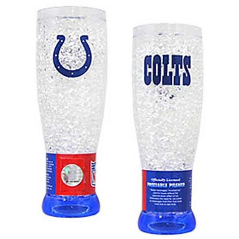 Indianapolis Colts NFL Crystal Pilsner Glass