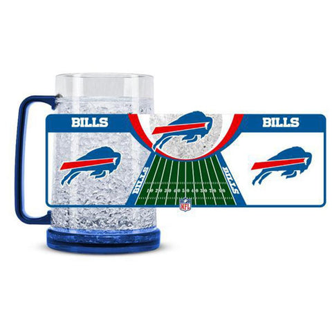 Buffalo Bills NFL Crystal Freezer Mug