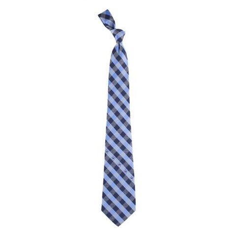 Tennessee Titans NFL Check Poly Necktie