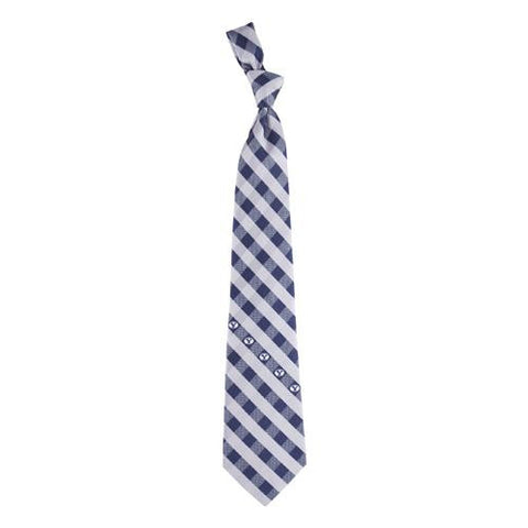 Brigham Young Cougars NCAA Check Poly Necktie