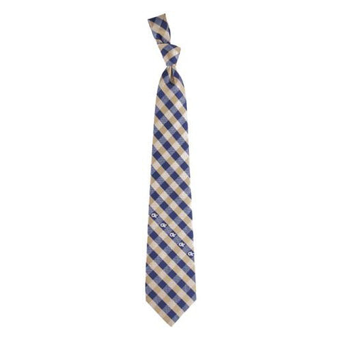 Georgia Tech Yellowjackets NCAA Check Poly Necktie