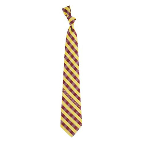 Iowa State Cyclones NCAA Check Poly Necktie