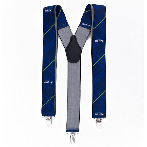 Seattle Seahawks NFL Oxford Mens Suspenders
