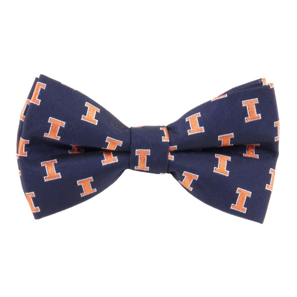 Illinois Fighting Illini NCAA Bow Tie (Repeat) - 2