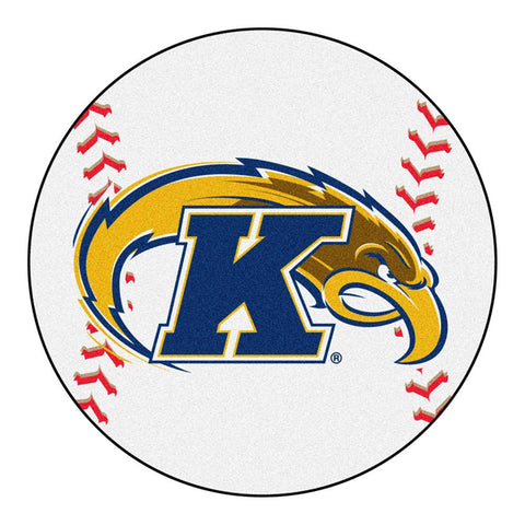 Kent Golden Flashes NCAA Baseball Round Floor Mat (29)
